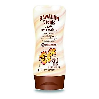 Lotion Solaire Silk Hawaiian Tropic Spf 50+ (180 ml)