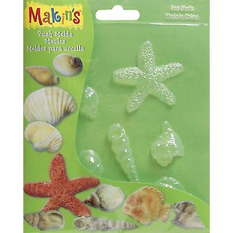 Argile Push moules Sea Shell M390 de Makin 3