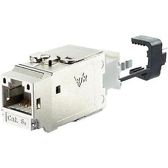 RJ45 module Keystone CAT 6A Metz Connect 130B21-E