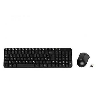 Vivanco Black Wireless Keyboard And Mouse Office In September