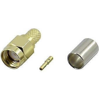 SMA reverse polarity connector Socket, straight 50 Ω Conrad Components