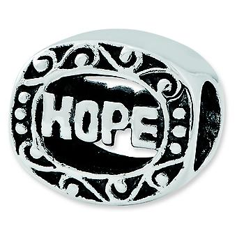 Sterling Silver Reflections Hope Bead Charm