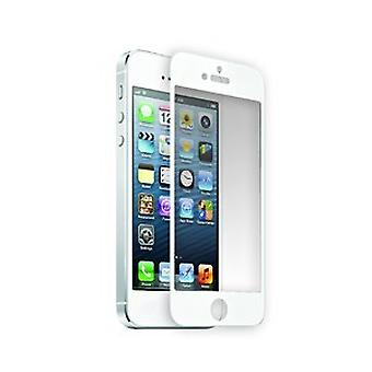 Santok PCs tempered quality screen glass for iPhone 5 / 5s in white