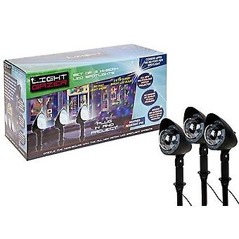 3 pack Disco Christmas Light Gazor Projector - Project gekleurde Kerstverlichting