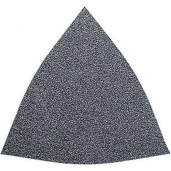 Delta grinder blade Hook-and-loop-backed, unperforated Grit size 60 Width across corners 80 mm Fein 63717082011 50 pc(