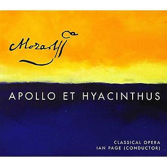 W.a. Mozart - Mozart: Importación Apollo Et Hyacinthus [SACD] Estados Unidos