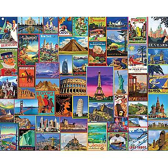 Best Places In The World 1000 piece jigsaw puzzle 760mm x 610mm  (wmp)