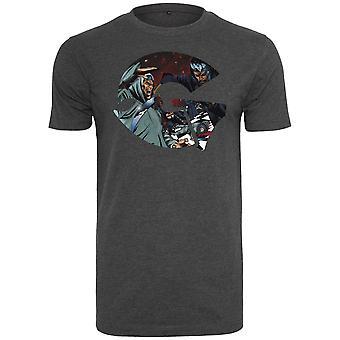 Wu-wear hip hop skjorte - GZA type trækul