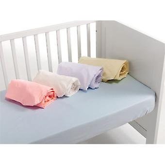 Interbaby Bottom sheet for popelin cradle (Textiel , Kinderjaren , Beddengoed)