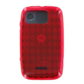 Verizon Citrus WX445 Silicone Gel Case (Red) (Bulk Packaging)