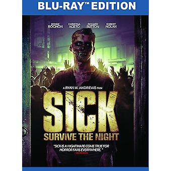 Sick: Survive the Night [Blu-ray] USA import