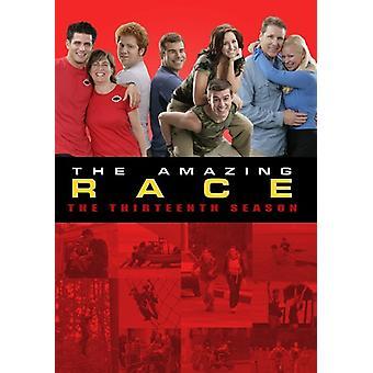 Amazing Race: Sæson 13 [DVD] USA importerer