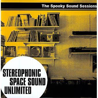 Stereofonisk plads lyd ubegrænset - Spooky lyd sessioner [Vinyl] USA importerer
