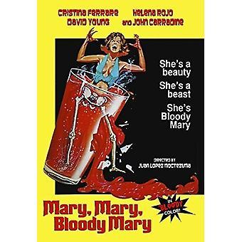 Mary Mary Bloody Mary [DVD] USA importerer