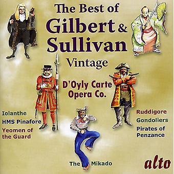 D'Oyly Carte Opera Company - The Best of Gilbert & Sullivan: Vintage D'Oyly Carte [CD] USA import