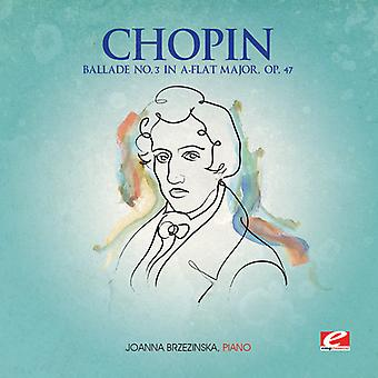 F. Chopin - Chopin: Ballade Nr.3 in a-Flat majeur, Op. 47 [CD] USA import