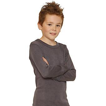 أوكتاف الأولاد الملابس الداخلية الحرارية تي شيرت كم طويل/تنيط/أعلى