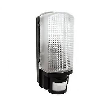 LED Robus Whitestar 60W Black Dusk Dawn Sensor Bulkhead