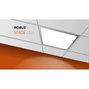 LED Robus espacio 40W blanco cálido LED luz de techo de teja, 600 x 600