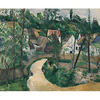 Paul Cezanne - Turn in the Road Poster Print Giclee