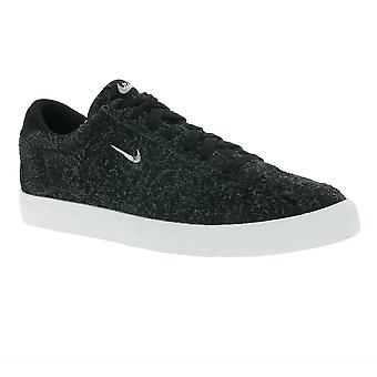 NIKE match classic suede ladies genuine leather sneaker black