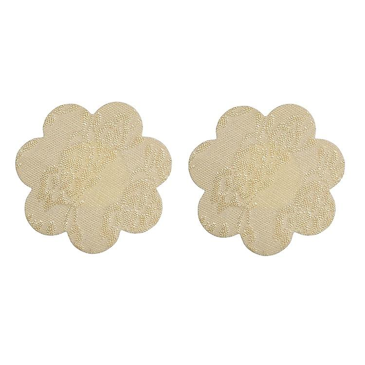 Undercover Glamour's Lace Nipple Plasters, Nipple Covers/ Protectors. 3 Pack, Petal Shape.