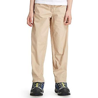 New Regatta Girl's Doddle Capri Walking Hiking Trousers Beige