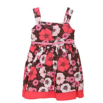 Girls Floral Pattern Summer Wear Dress