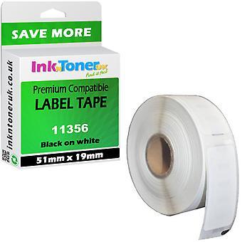 DYMO LabelWriter 400 etykieciarki Compat taśmy 11356 nazwę mały znaczek 51 x 19