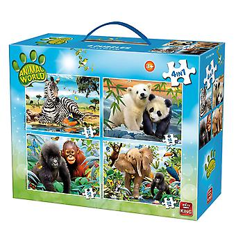 King Animal World 4-in-1 Carry Case