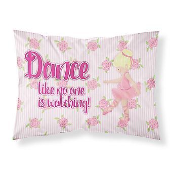 Ballet Dance Blonde Fabric Standard Pillowcase