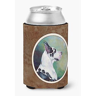 Carolines skarby 7278CC Dog arlekin puszka lub butelka Hugger