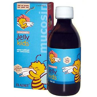 Eladiet Mucosin Jelly Kids (Tutti Frutti) 250ml.