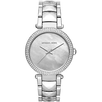 Michael Kors Watches Mk6424 Parker Silver Stainless Steel Ladies Watch