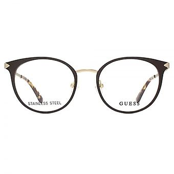 Guess Occhiali GU2639 In marrone scuro opaco