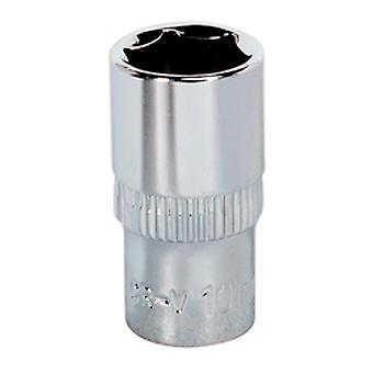 Sealey Sp1410 Walldrive Socket 10Mm 1/4Sq Drive Fully Polished