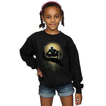 Marvel Girls Black Panther Tribe Mask Sweatshirt