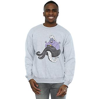 Disney Men's Little Mermaid Classic Ursula Sweatshirt
