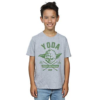 Star Wars pojkar Yoda Collegiate T-Shirt