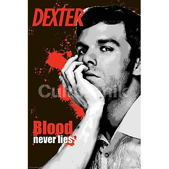 Dexter - Blood Never Lies Poster Poster Print