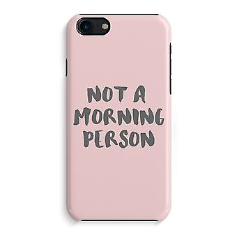 iPhone 7 Full Print Case (Glossy) - Morning person