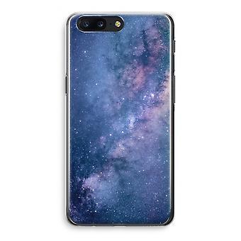 OnePlus 5 Transparant Case - Nebula