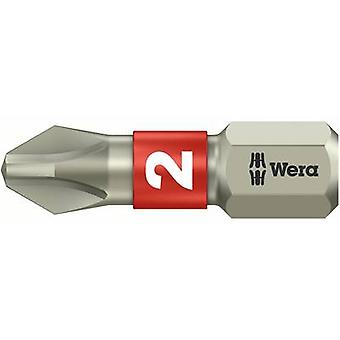 Philips bit PH 1 Wera 3851/1 TS PH 1 X 25 MM Stainless steel