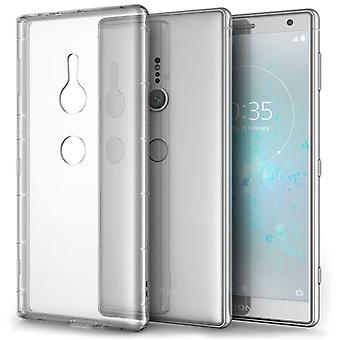 Sony Xperia XZ2 Air Cushion Gel Case - Clear