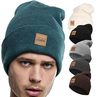 Urban classics - PATCH long Heather Beanie winter Hat