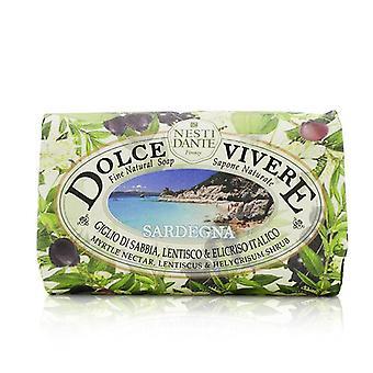 Dolce Vivere Fine Natural Soap - Sardegna - Myrtle Nectar Lentiscus & Helycrisum Shrub - 250g/8.8oz