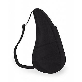 The Healthy Back Bag Textured Nylon Black Small
