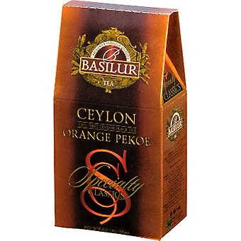 Basilur Tea Ceylon Orange Pekoe Loose Black Tea Pack 100G