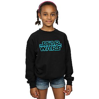 Star Wars Girls Neon Sign Logo Sweatshirt