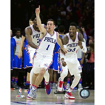 TJ McConnell 2016-17 Action Photo Print